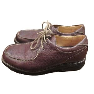 Martin Dingman Brown Leather Oxfords Shoes